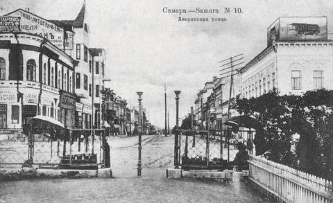 выход на дворянскую 1916