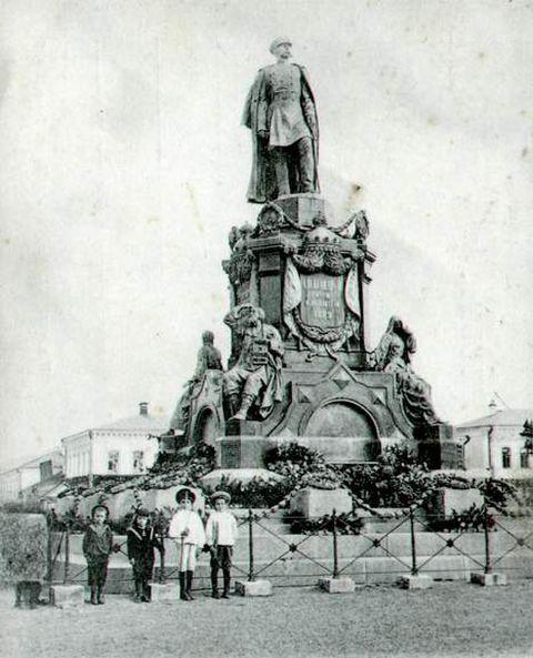 памятник Александру II 1900