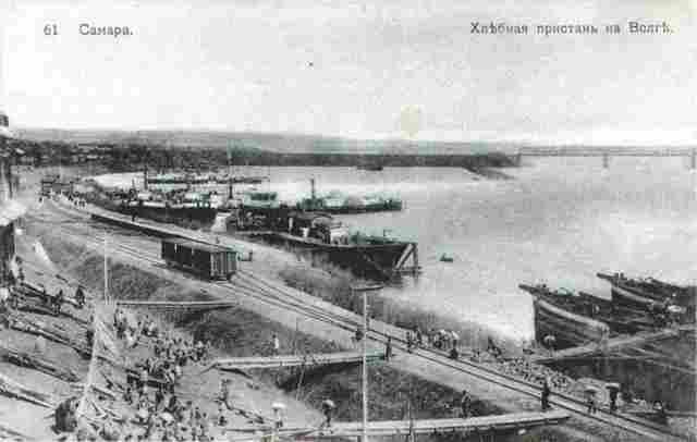 История Самарских пристаней