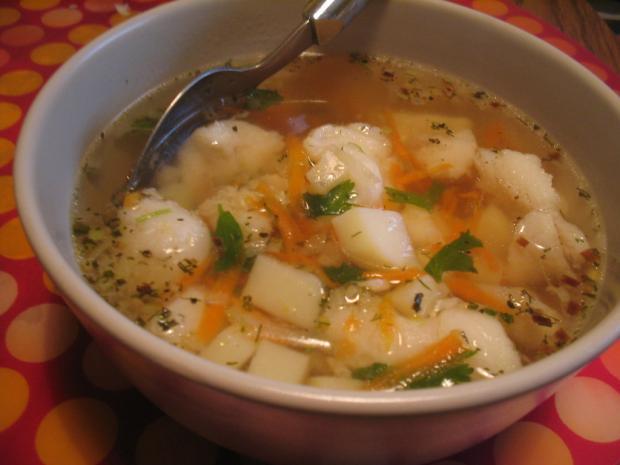 Простые супы на бульоне