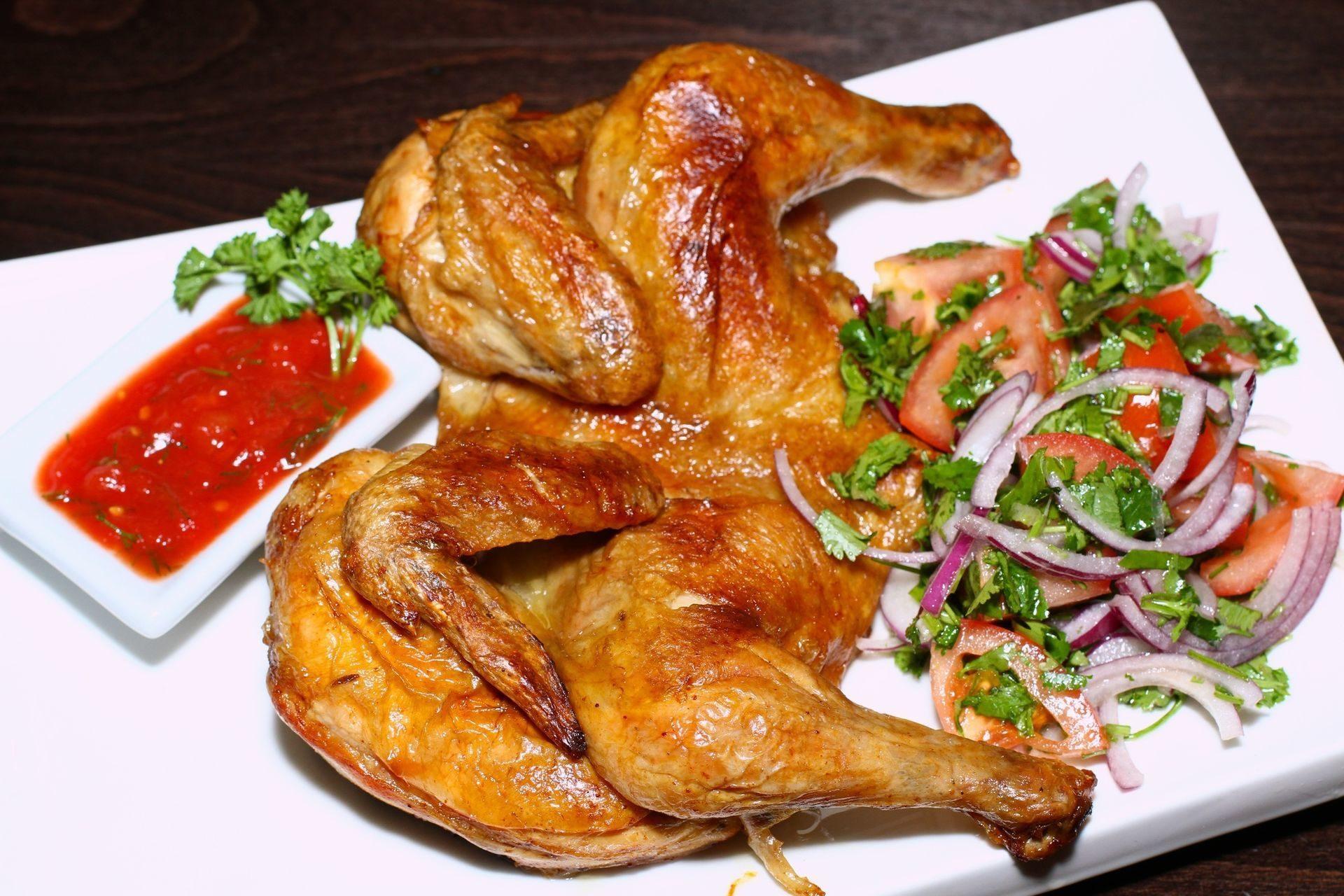 Блюда из жареной птицы и дичи