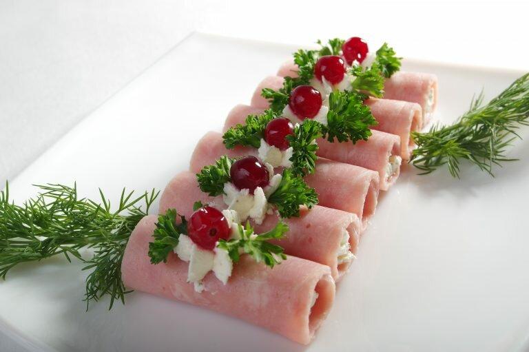 Холодные закуски из мяса и птицы
