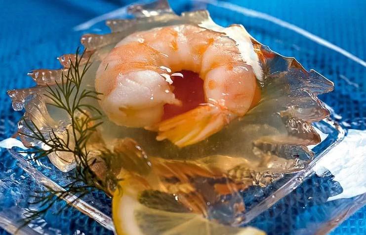 Холодные закуски из рыбы и морепродуктов